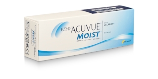 1-DAY ACUVUE® MOIST, 30 pack $40.99