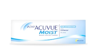 1-DAY ACUVUE® MOIST for ASTIGMATISM - 30 pack $42.99