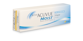 1-DAY ACUVUE® MOIST for ASTIGMATISM, 30 pack $42.99