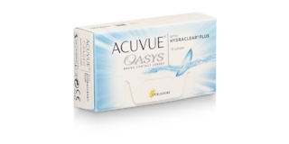 ACUVUE OASYS® with HYDRACLEAR® PLUS Technology, 12 pack $84.99