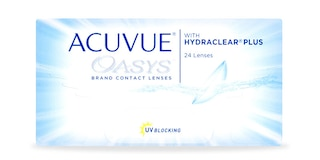 ACUVUE OASYS® with HYDRACLEAR® PLUS Technology, 24 pack $150.99