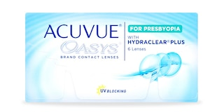 ACUVUE OASYS® for PRESBYOPIA, 6 pack $59.99