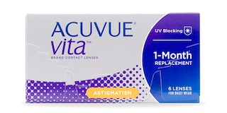ACUVUE® VITA for ASTIGMATISM, 6 pack $73.99