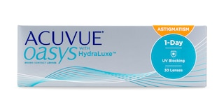 ACUVUE OASYS®  1-Day for ASTIGMATISM, 30 pack $46.99