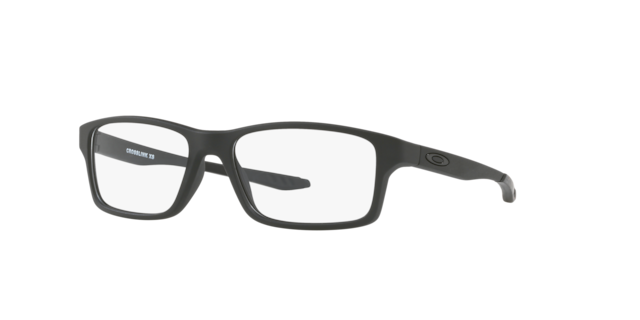 Oakley Youth Black Clear OY8002 CROSSLINK XS Eyeglasses